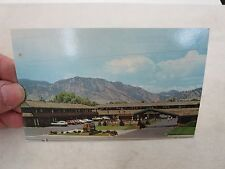 GOLDEN BUFF MOTOR LODGE BOULDER COLORADO MOTEL BEST WESTERN  POSTCARD