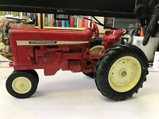 Old Vtg Antique Red Diecast ERTL Co International Toy Tractor Made In USA
