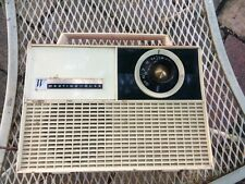 Westinghouse Portable Tube Radio, ca 1959 Model H660 P4 red!