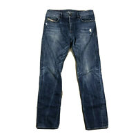 Diesel BUSTER OUB89 Regular Slim-Tapered Men's Blue Jeans W32 L32