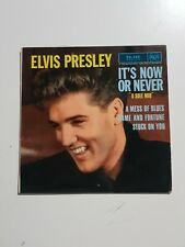 45 tours elvis presley with the jordanaires it's now or never