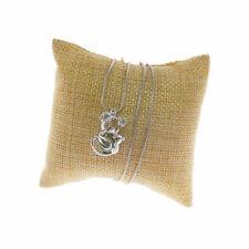 1x Silver Alloy Hollow Koala Family Locket Pearl Cage Jewelry Pendants Necklace