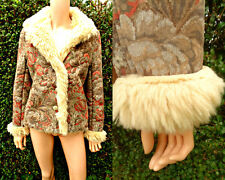 Minuet Jacket Carpet 70,s Style Boho Furry Lined  Pockets  Beautiful VGC 14-16