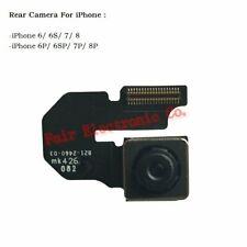 Cámara Trasera Trasera Y Cable Flex Unidad de reemplazo para Apple iPhone 6 6S 6P 7 7P