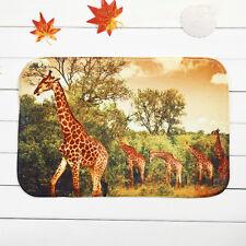 Home Decor Giraffes Rug Carpet Bathroom Floor Mat Dining Room 40*60cm Ous