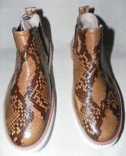factory price 35234 e360d Zara Woman en relieve de cuero estampado de pitón para mujeres Tenis Tire  de Talla 38
