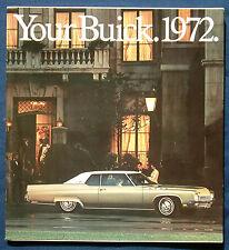 Prestige Prospekt brochure 1972 Buick  (USA)