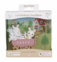 Epoch Sylvanian Families Furniture & Baby Chocolate Rabbit Twins Set F/S