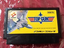 FAMICOM TOP GUN 1987 KONAMI Nintendo FC FAMILY COMPUTER game