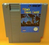 Milon's Secret Castle  - Nintendo NES Game Rare Tested Works Great Authentic