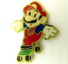 MARIO SKATEBOARD OFFICIAL 1988 PIN BADGE NINTENDO CONSOLE GAMES PROMO SUPER 2112