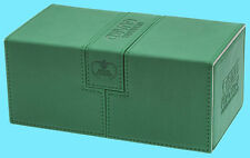 ULTIMATE GUARD TWIN FLIP n TRAY GREEN 200+ CASE XENOSKIN Standard Size Card Box