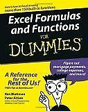 Excel Formulas and Functions For Dummies (For Dumm
