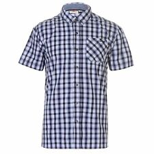 Chemise Manches Courtes Chemisette Homme LEE COOPER Taille S Neuve