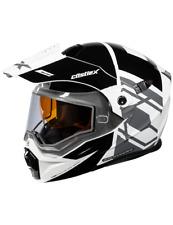 Castle X CX950 Hex Modular Snowmobile Helmet Process Black/White