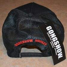 VERY LIMITED Budweiser GONGSHOW Retro TRUCKERS CAP Black Mesh Back LAST ONE!