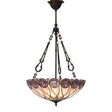 Contemporary Tiffany Rose Light Fittings, Pendants, Flush, Table & Floor Lamps
