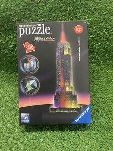 Ravensburger 3D Jigsaw Puzzle Empire State Building - Night Edition Unchecked