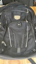 High Sierra Business Elite Backpack Black 17'' Laptop Tablet Storage
