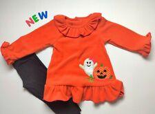 Toddler Kids Baby Girls Clothes 24M - 2/3 NWT Good Lad Halloween Fleece Sweater