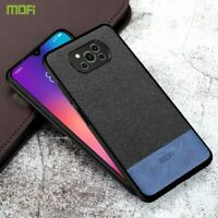 Xiaomi POCO X3 NFC Case Fabirc Leather Back Cover Shockproof Luxury Style Fundas