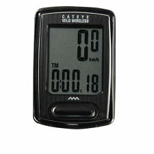 Cateye Riding Black Bicycle Velo Wireless Digital Computer Speedometer CC-VT230W