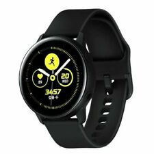 Original Samsung Galaxy Smart Watch Active 40mm Wi-Fi Bluetooth SM-R500 - Black