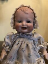 """~Antique 4.75"""" All Bisque Bonnie Babe Character Toddler Doll~"""