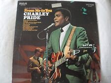 TO ALL MY WONDERFUL FANS FROM ME TO YOU CHARLEY PRIDE VINYL LP 1971 PIROQUE JOE
