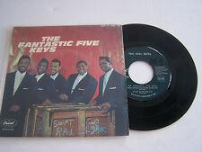EP 4 TITRES VINYL 45 T , THE FANTASTIC FIVE KEYS ,VG ++ / EX . RARE CAPITOL 1769