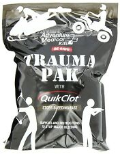 New Authentic Adventure Medical Kits Trauma Pack with QuikClot 2064-0292