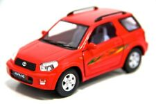 "New 5"" Kinsmart Toyota Rav4 Diecast Model Toy SUV 1:32 Red"