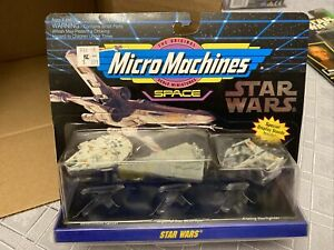 * NEW SEALED 1993 Star Wars: Micro Machines - Collection 1 - 65860 - Galoob *