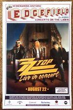 Zz Top 2012 Gig Poster Edgefield Portland Oregon Concert Version 2 of 2
