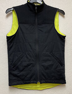 Specialized Utility Vest Mens Black And Neon yellow Reversible Sz S