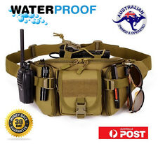 Military Tactical ARMY Survival WATERPROOF Waist Pack Bumbag FITS Molle HUNTING