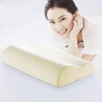 Oreiller coussin en mousse à mémoire de forme Orthopédique confort tête cou