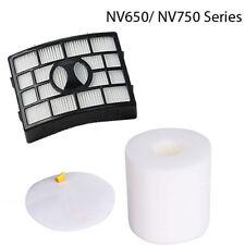 HEPA Foam Felt Filter For Shark NV650 NV750 NV652 NV751 Replacement Park XFF650