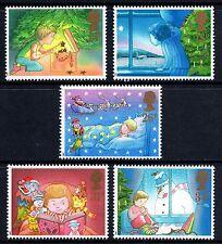 GB 1987 Christmas Komplettes Set SG1375 - 1379 Nicht gefaßt Ungebraucht
