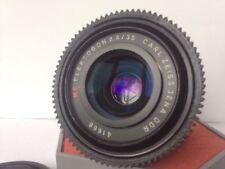 Zeiss FLEKTOGON 2.4/35 Lens FULL FRAME CINE 4K Canon EF mount FOLLOW FOCUS GEAR