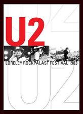 U2 Loreley Rockpalast Festival Live 1983 - New Original Dvd