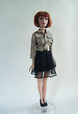 "Madame Alexander 16"" Alex Fashion Doll Camo Cocktail Custom Outfit Skirt Shoes"