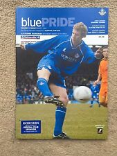 Oldham Athletic v Wycombe Wanderers - Nationwide League Div 2 2003/04 Programme