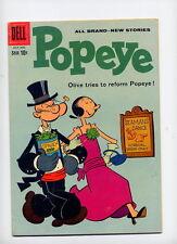 Popeye #54, 1960 Dell comic