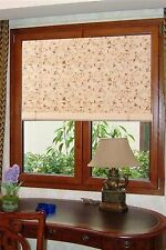 Asian Home Natural Bamboo Roll Up Window Blind Sun Shade Wb-Bct001 (W24 X H72)