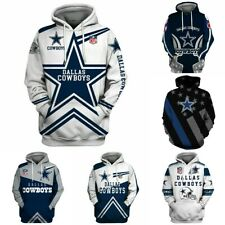 Dallas Cowboys Hoodie Football Pullover Sports Hooded Sweatshirt Casual Jacket