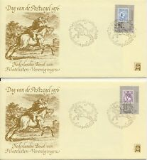 3 x Envelop Dag van de Postzegel 1976