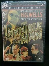 The Invisible Man (1933) Universal Studios 2000 DVD HARD-TO-FIND FACTORY SEALED