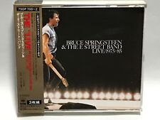 Bruce Springsteen Live/1975-85 BOX OBI Japan 3CD 75DP700~2 E Street Band 1986