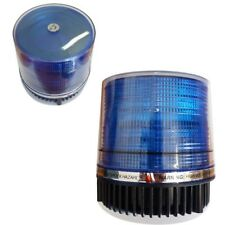 LAMPEGGIANTE EMERGENZA BLU 12V BASE MAGNETICA LAMPADA ROTANTE AUTO ACCENDISIGARI